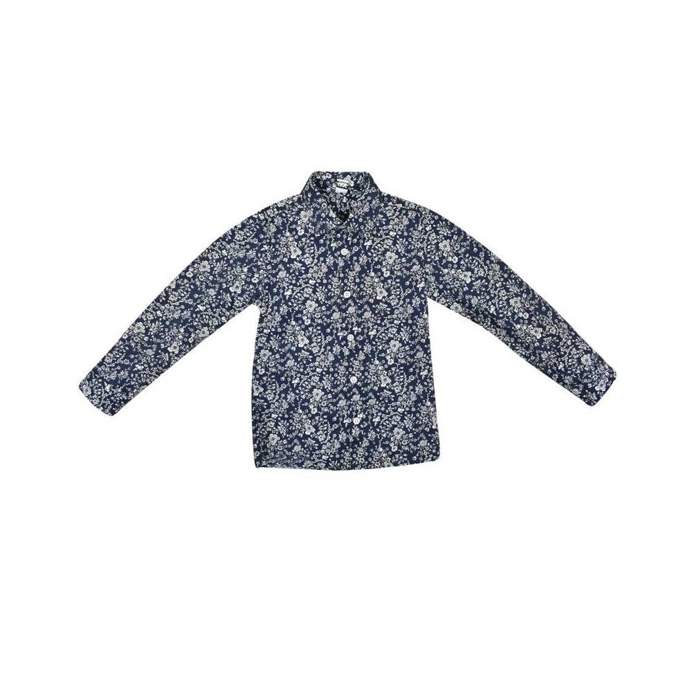 Рубашка для мальчика iDO пестрая комплект платок 4.W380.00/6FP5