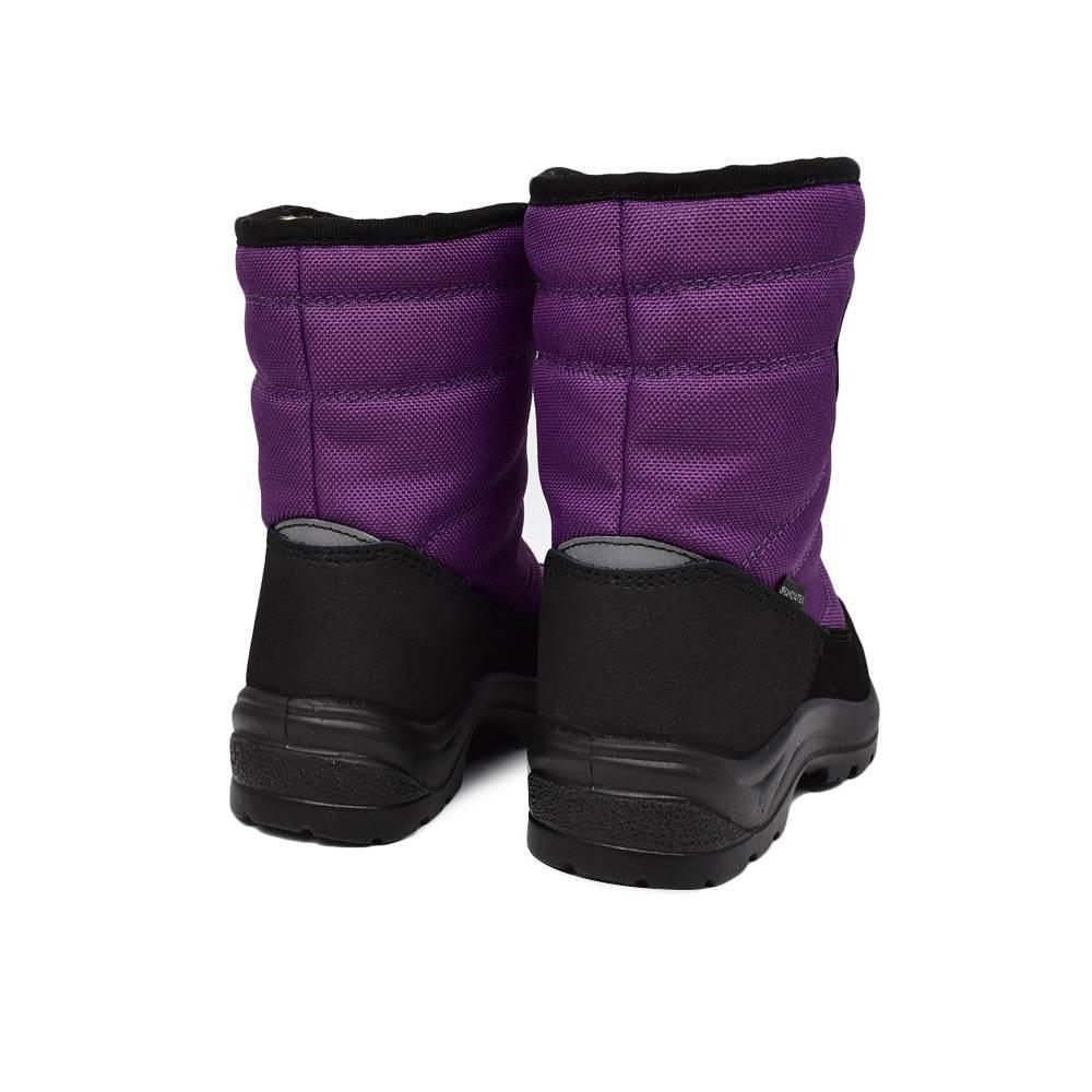 Сапоги для девочки «Skandia» зимние на липучке 3568R/TuonoAlbanyAmar_Purp