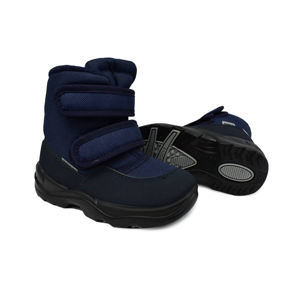 Ботинки для мальчика «Skandia» зимние на липучке 8427R/TuonoAmar_NavyNavy