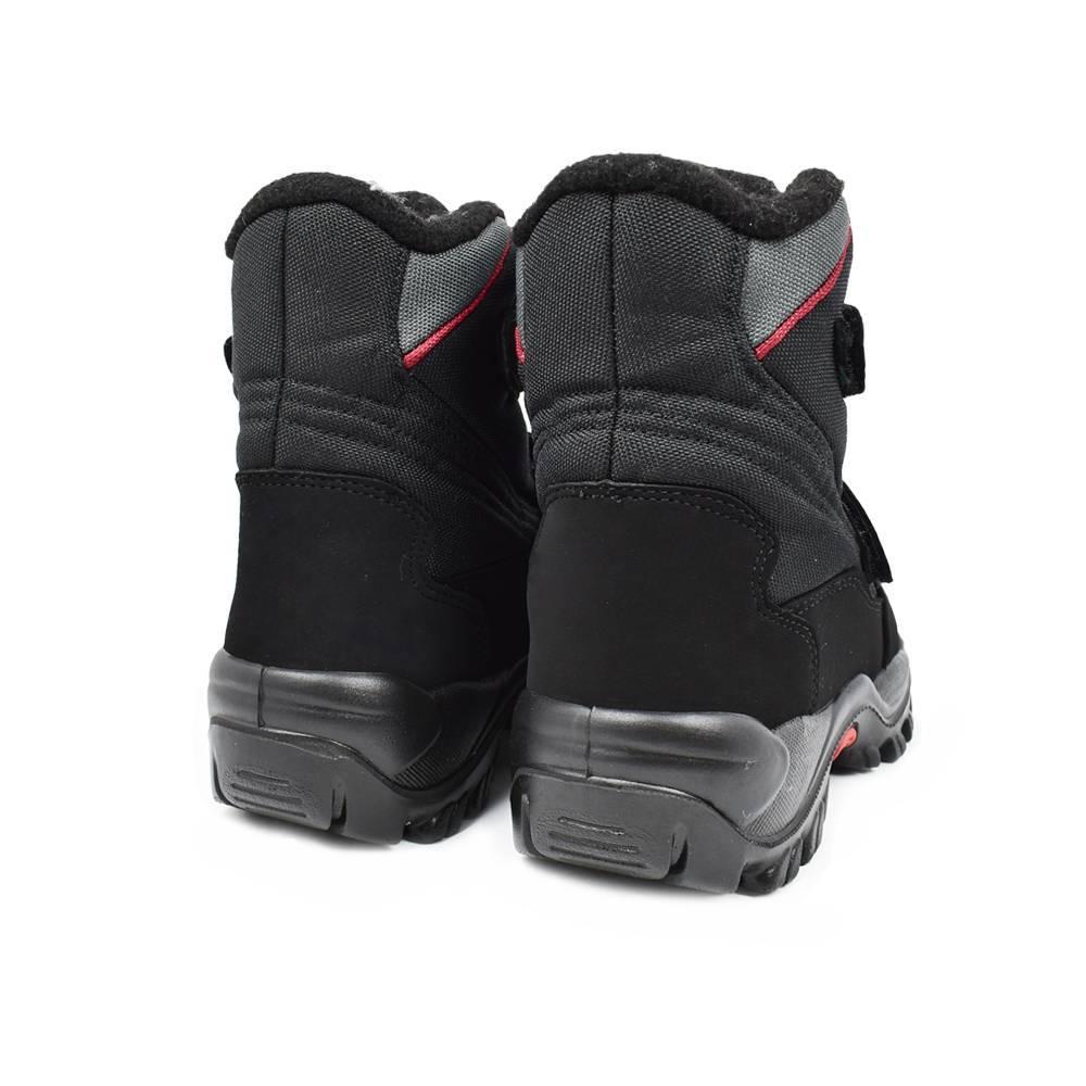 Ботинки для мальчика «Skandia» зимние на липучке 9310R/TuonoAmarco_BlkGrey