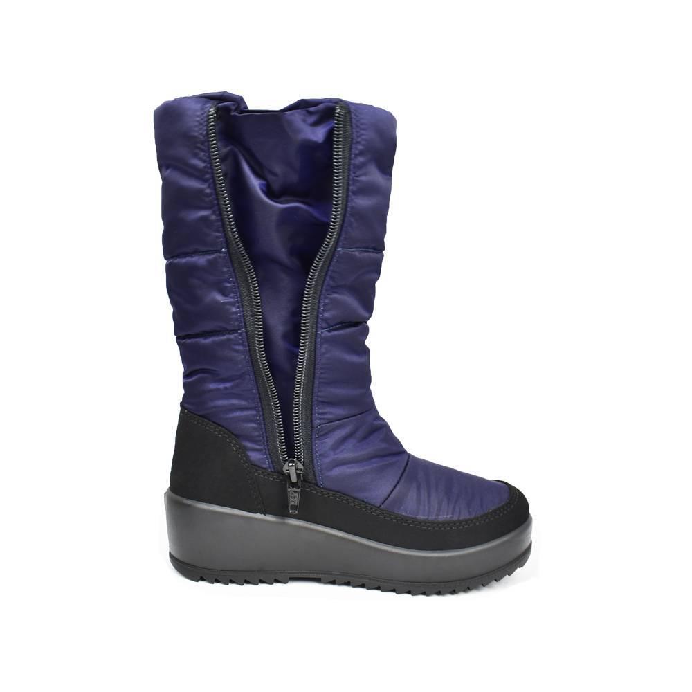 Сапоги для девочки «Skandia» зимние молния 65041R/TuonoDinamic_BlkNavy