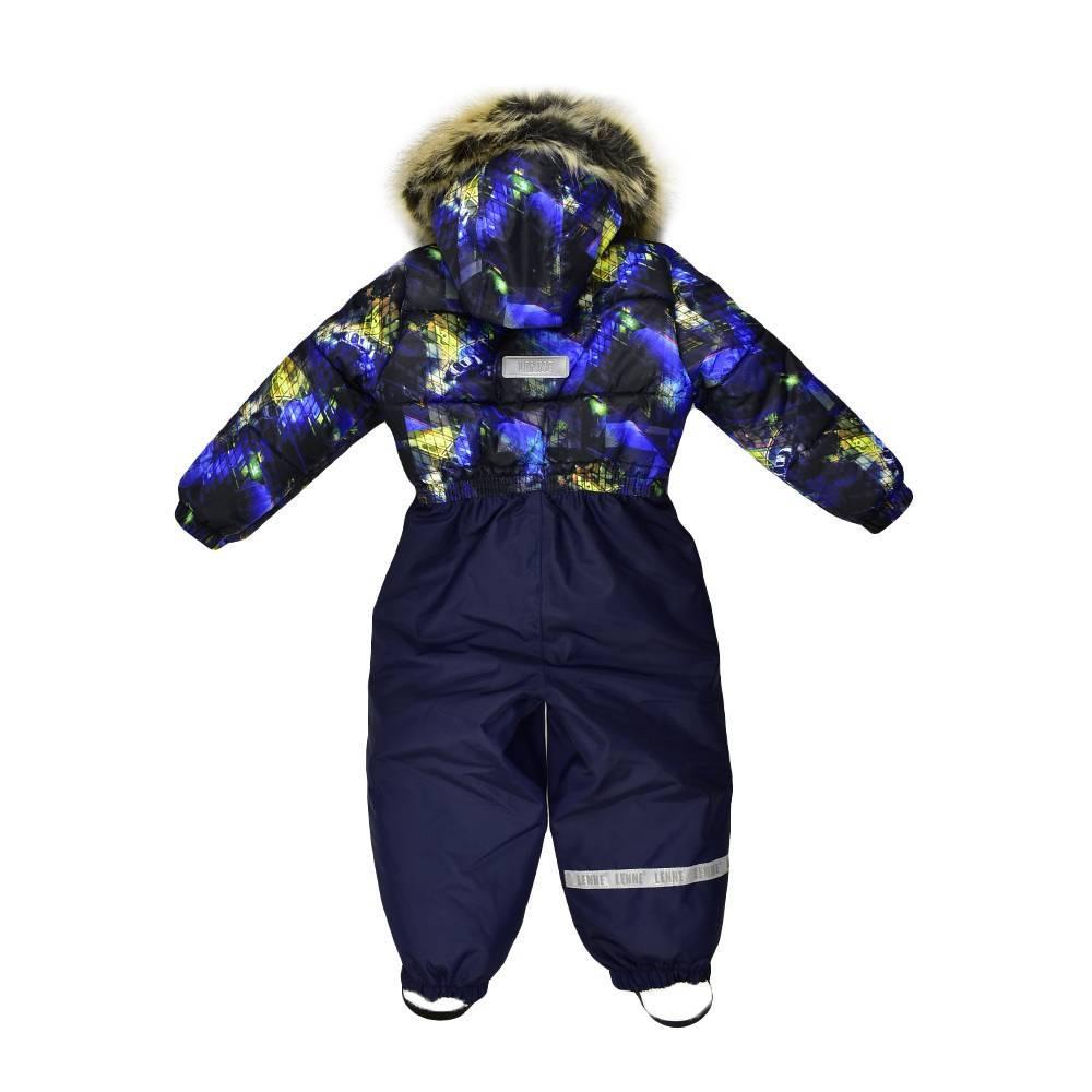 Комбинезон для мальчика LENNE зимний цельный капюшон и опушка съемные COLD