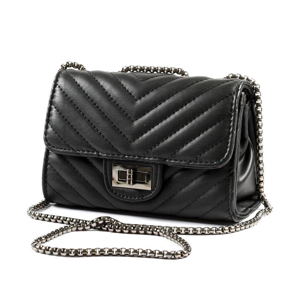 Сумка для девочки iDO модельная Chanel из эко-кожи 4.K483.00/0658