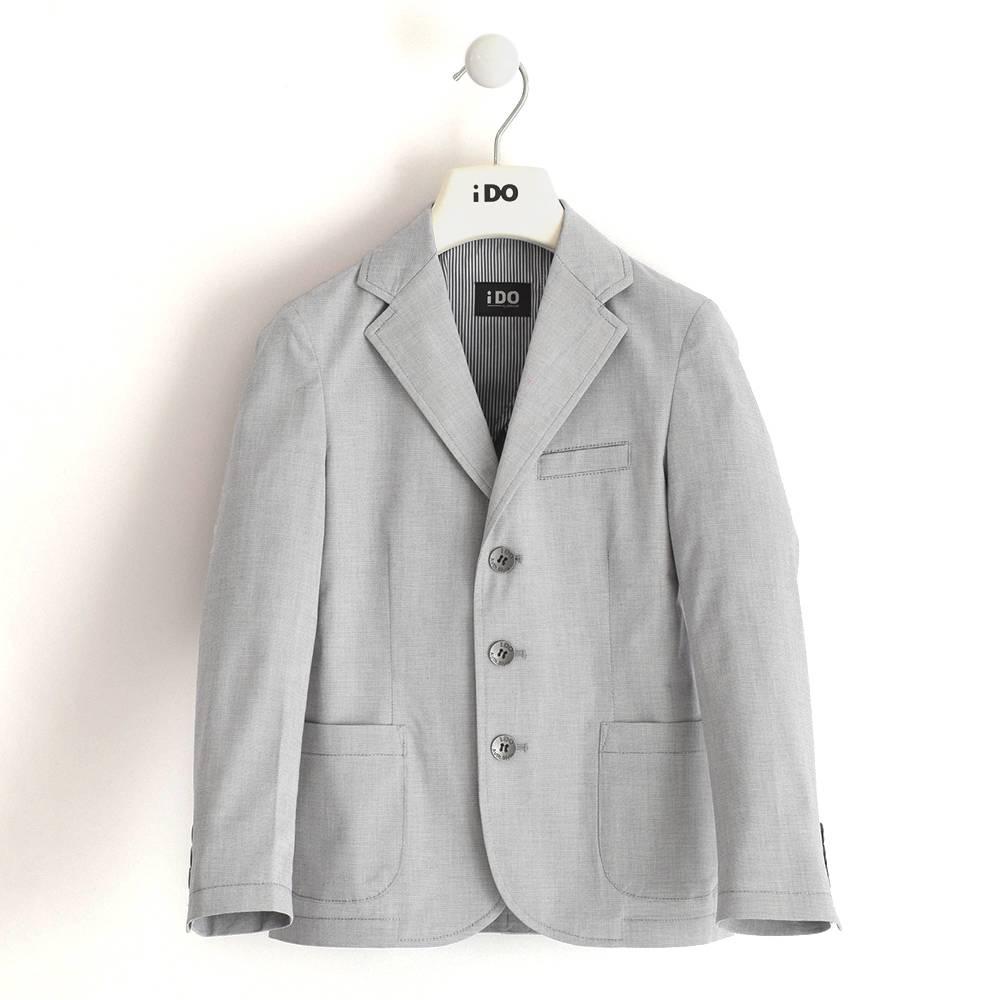 Пиджак для мальчика iDO классический хлопок поплин 4.J460.00/0516