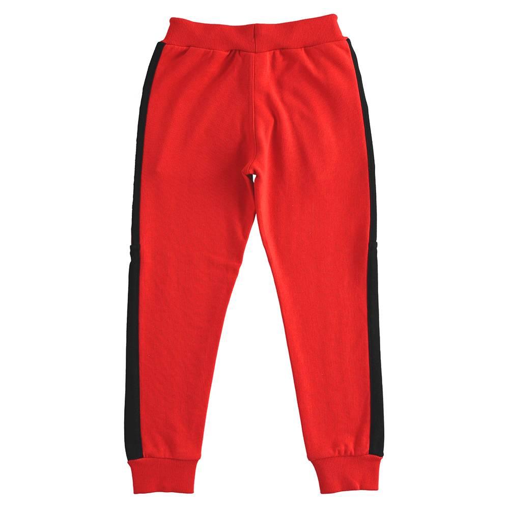 Штаны спортивные для мальчика iDO эластичный трикотаж на манжете 4.J419.00/2235 00/0567