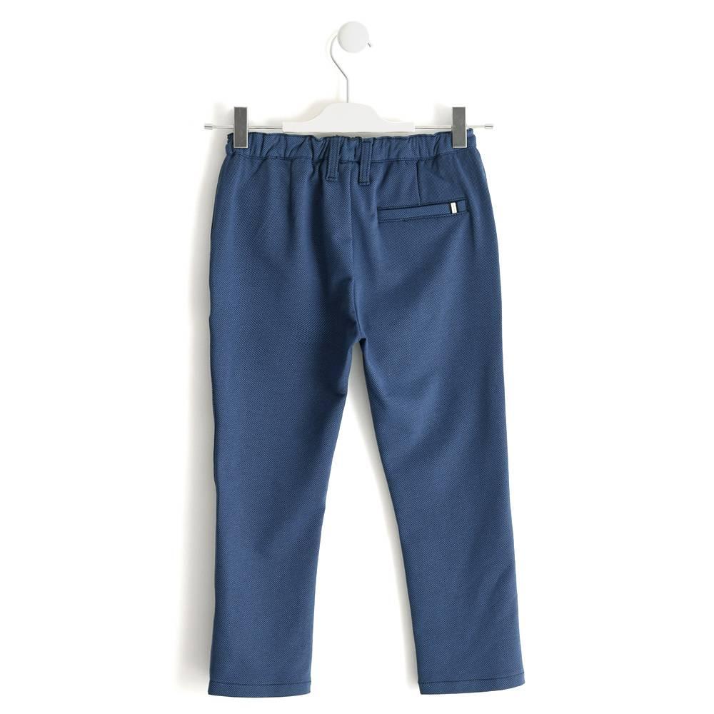 Брюки для мальчика iDO подросток чиносы синий 4.J423.00/6MC6