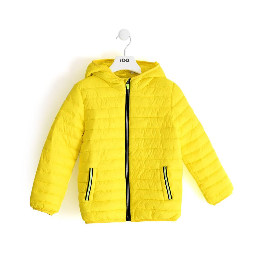 Куртка для мальчика iDO демисезонная с капюшоном 4.J041