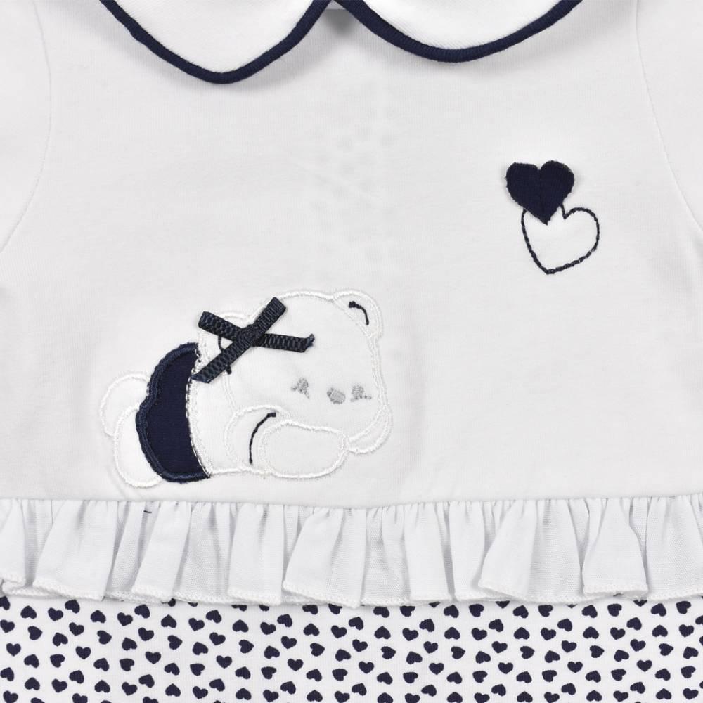 Человечек для девочки iDO ромпер новорожденной хлопок трикотаж 4.J114.00/8020