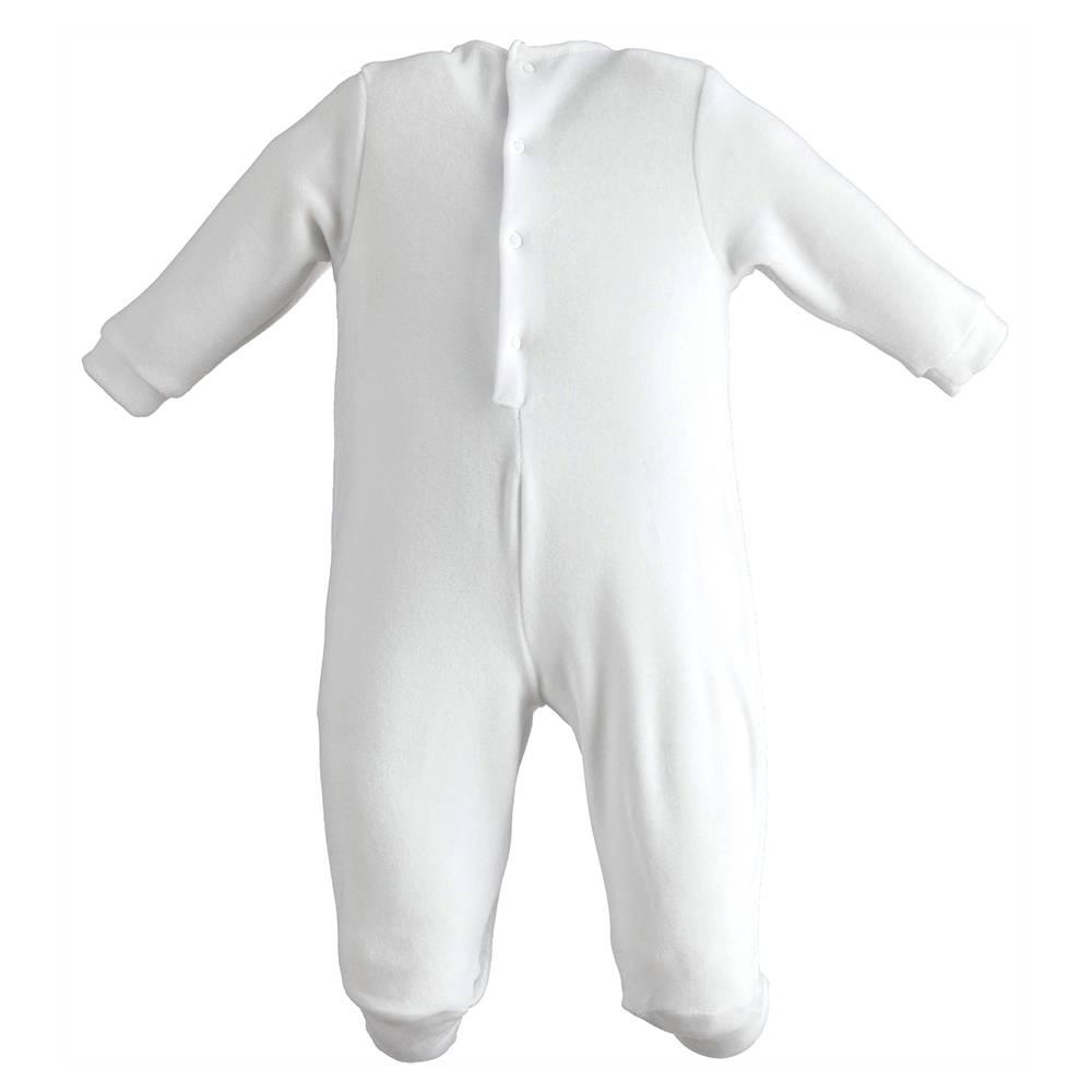 Человечек детский iDO ромпер новорожденным трикотаж велюр аппликация 4.J069.00