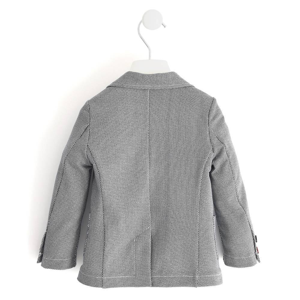 Пиджак для мальчика iDO без подкладки однобортный синий меланж 4.J255.00/6MF2