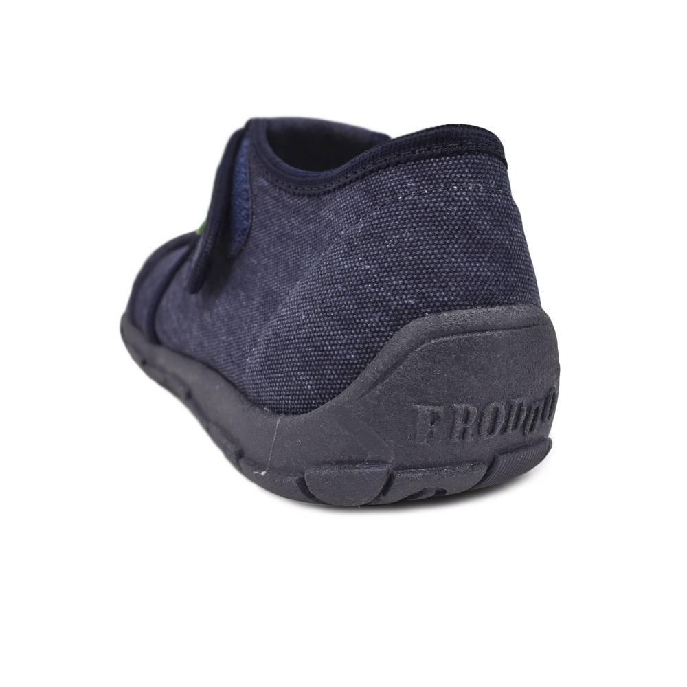 Тапочки для мальчика Froddo текстиль анатомический супинатор G1700253-1DarkBlue