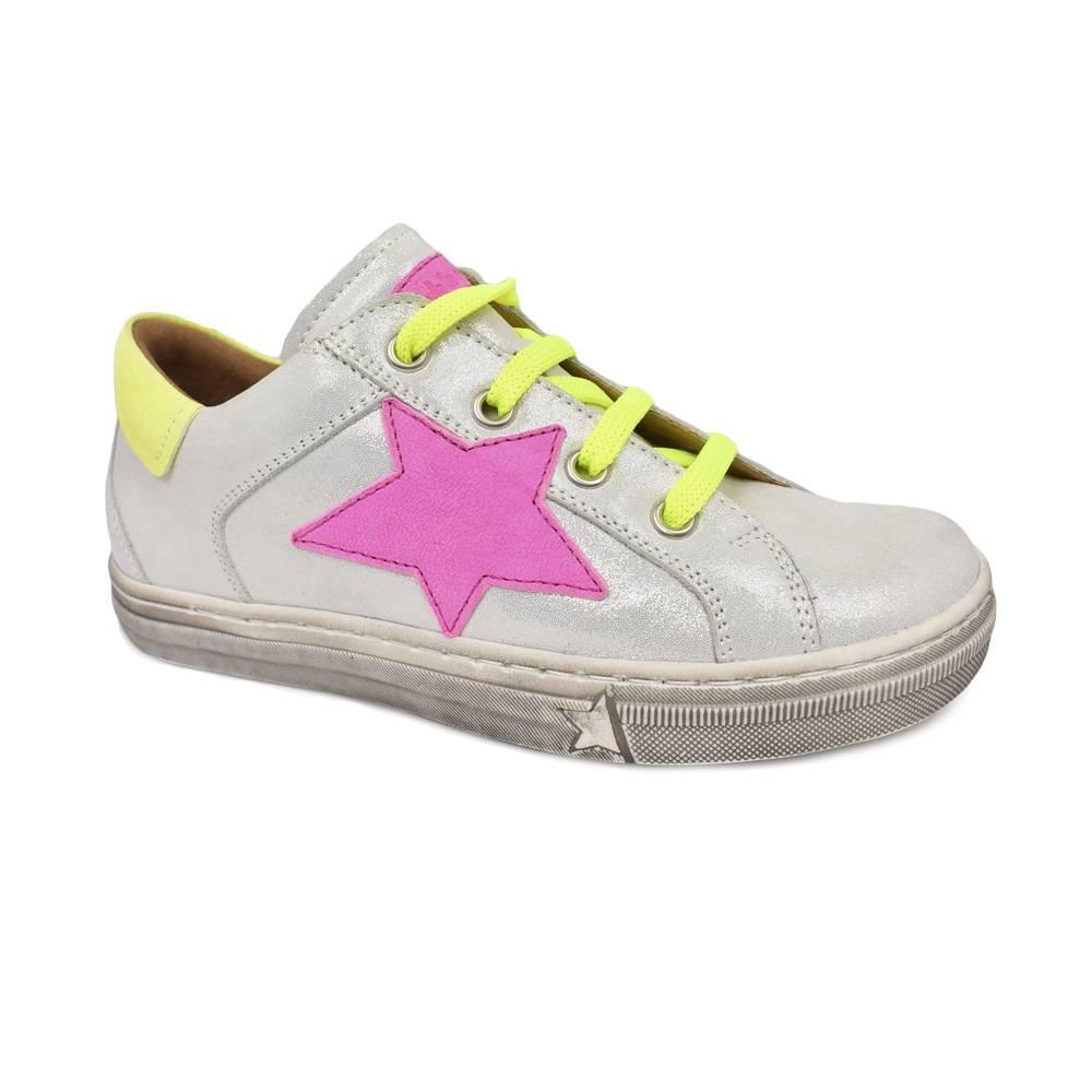 Кроссовки для девочки Froddo натуральная кожа, молния шнурки аппликация G3130142-7