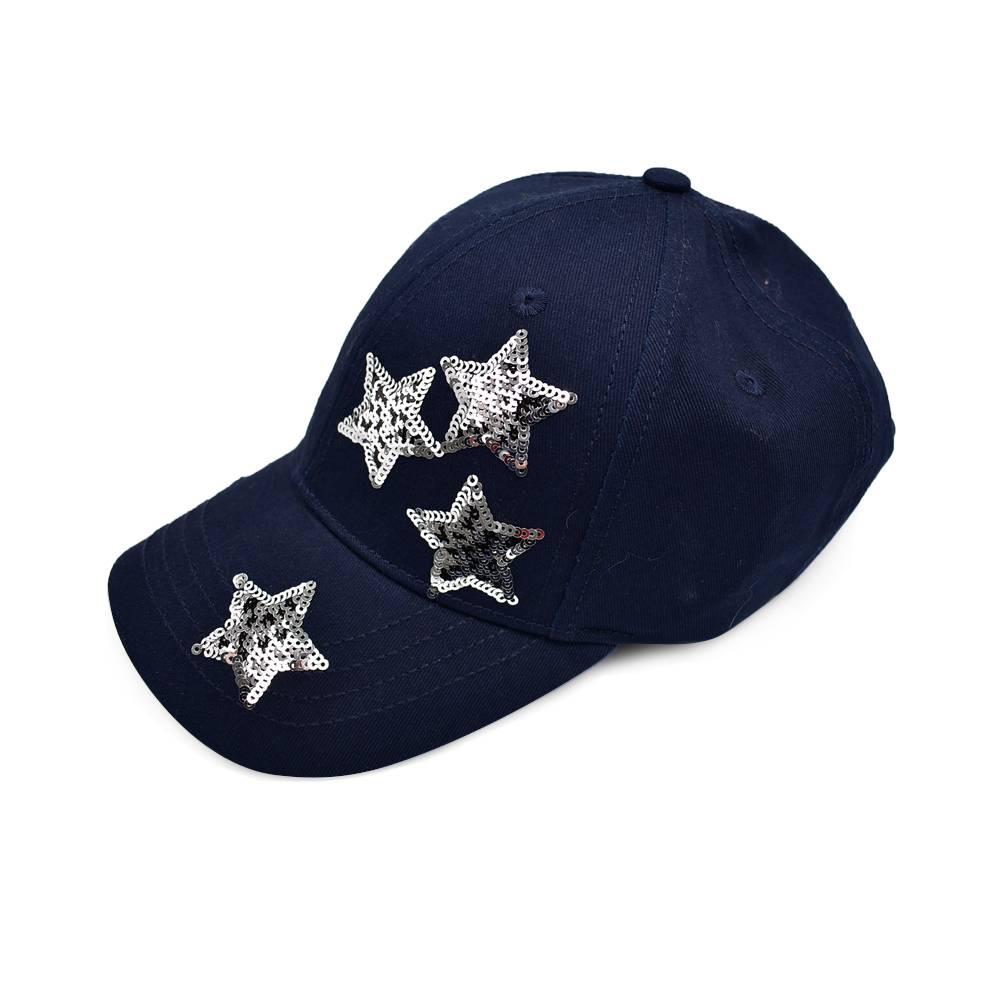 Бейсболка для девочки LENNE регулируемый объем звезды из пайеток 20290A