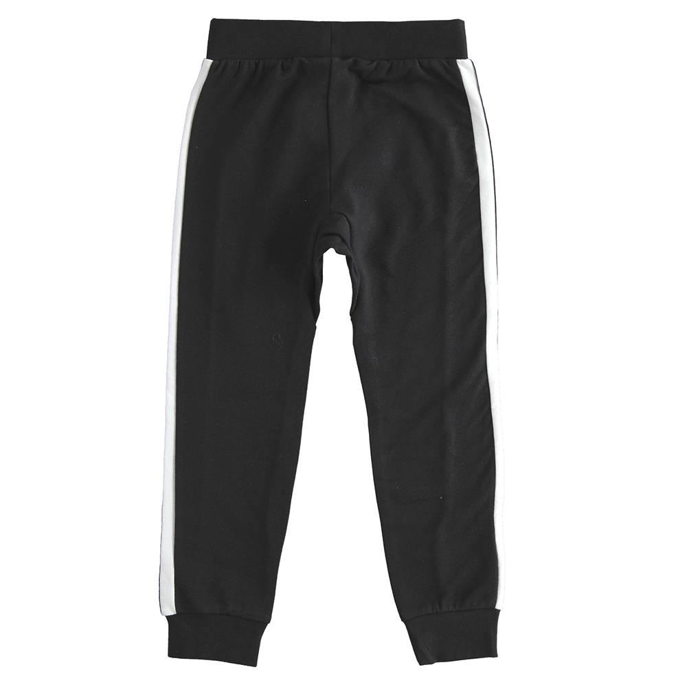 Штаны спортивные для девочки iDO эластичный трикотаж карман кенгуру 4.J535.00/0658