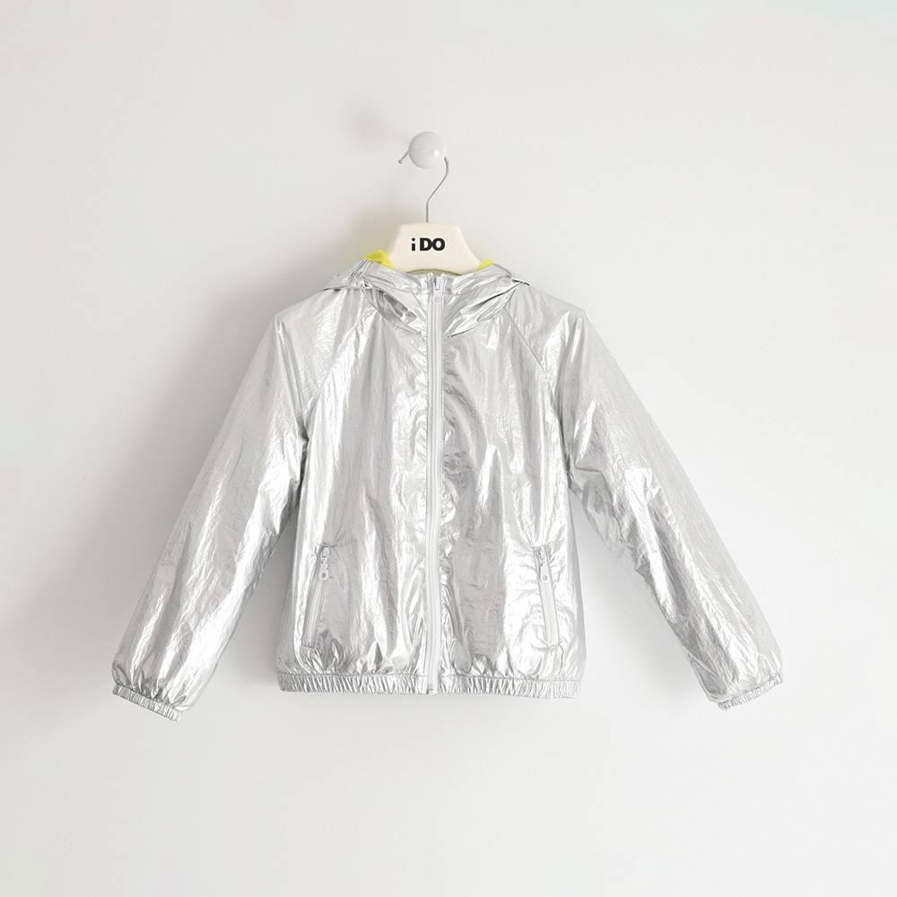 Куртка для девочки iDO демисезонная ветровка из водостойкой ткани 4.J557.00/1157