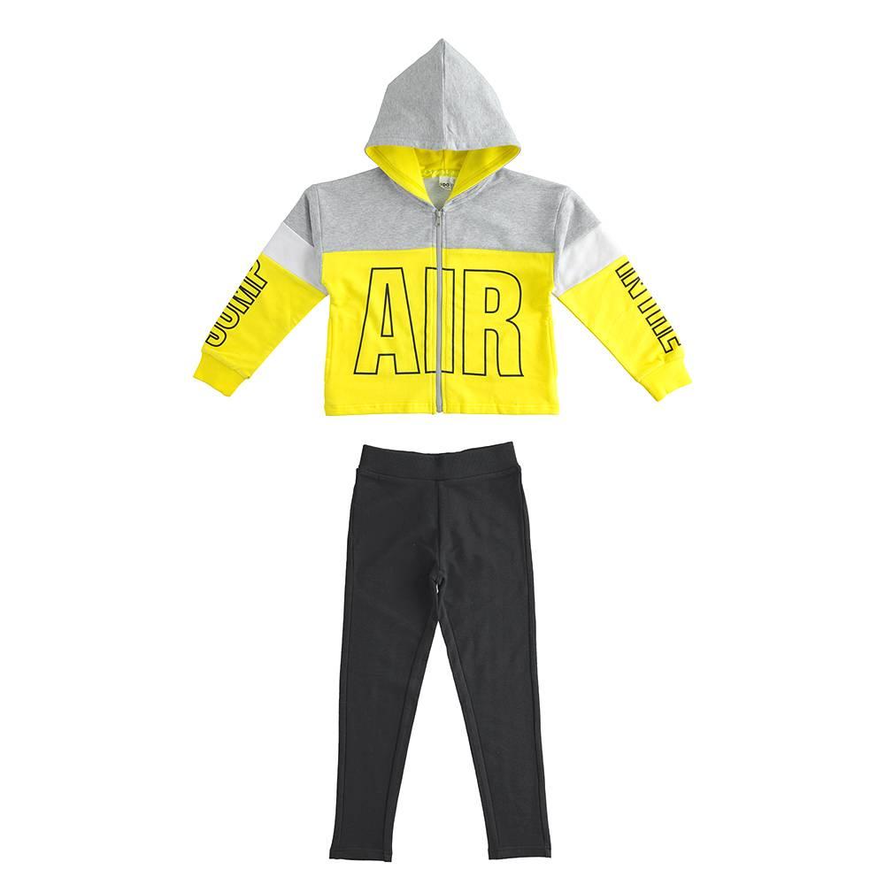 Комплект для девочки iDO спортивный подросток толстовка штаны трикотаж 4.J572.00