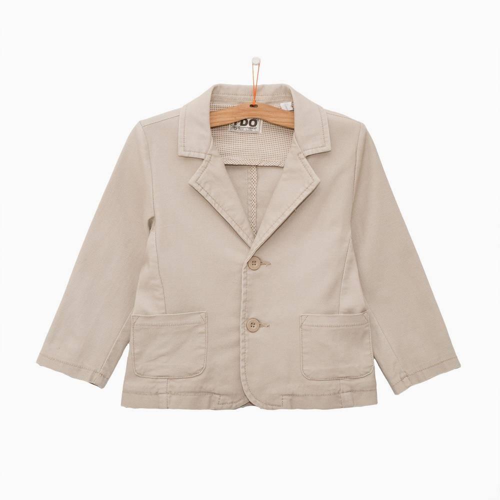 Пиджак для мальчика iDO классика бежевый 4.Q287.00/0436