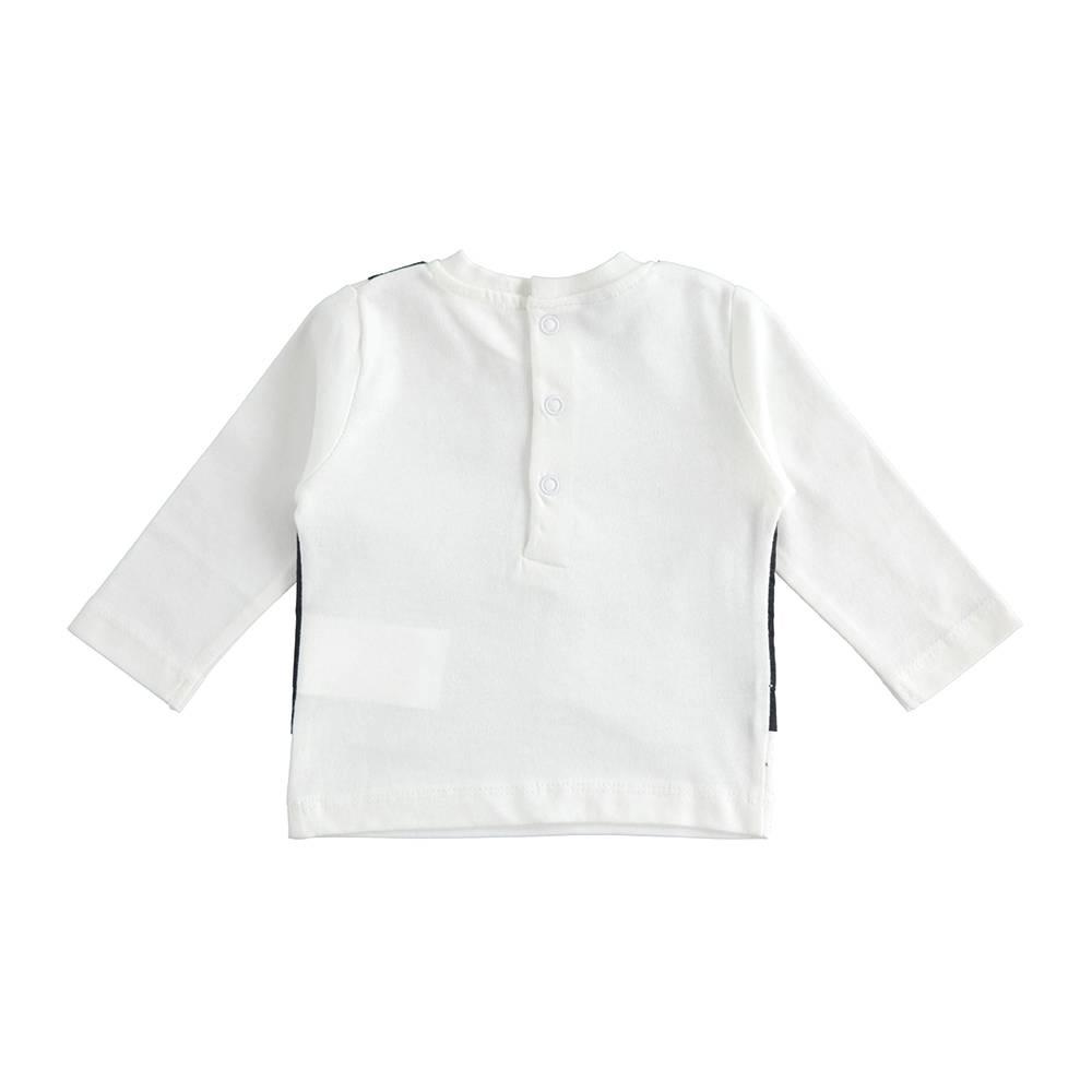 Реглан для мальчика iDO с имитацией жилетки 4.J100.00/0113