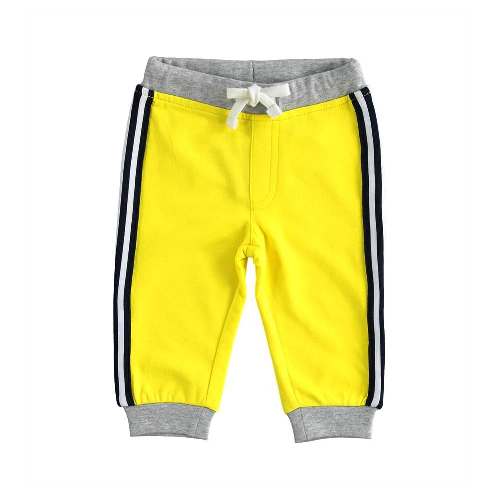 Штаны спортивные для мальчика iDO трикотаж хлопок 4.J104.00/1434