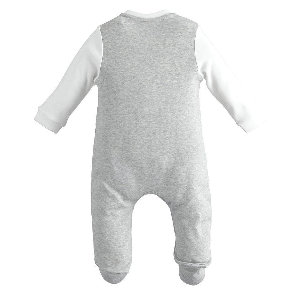 Человечек детский iDO велюровый аппликация застежка спереди 4.J149.00/8011