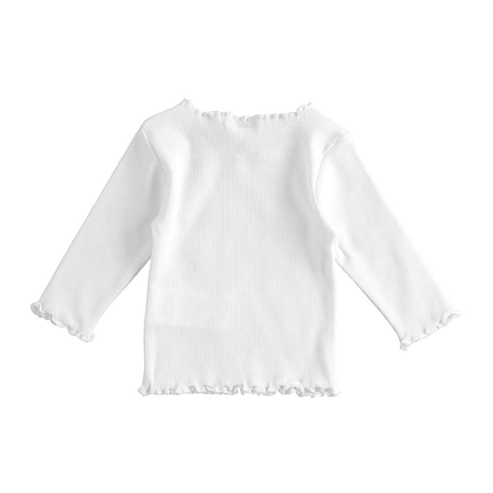 Реглан для девочки iDO хлопок трикотаж вышивка 4.J157.00/0113/3