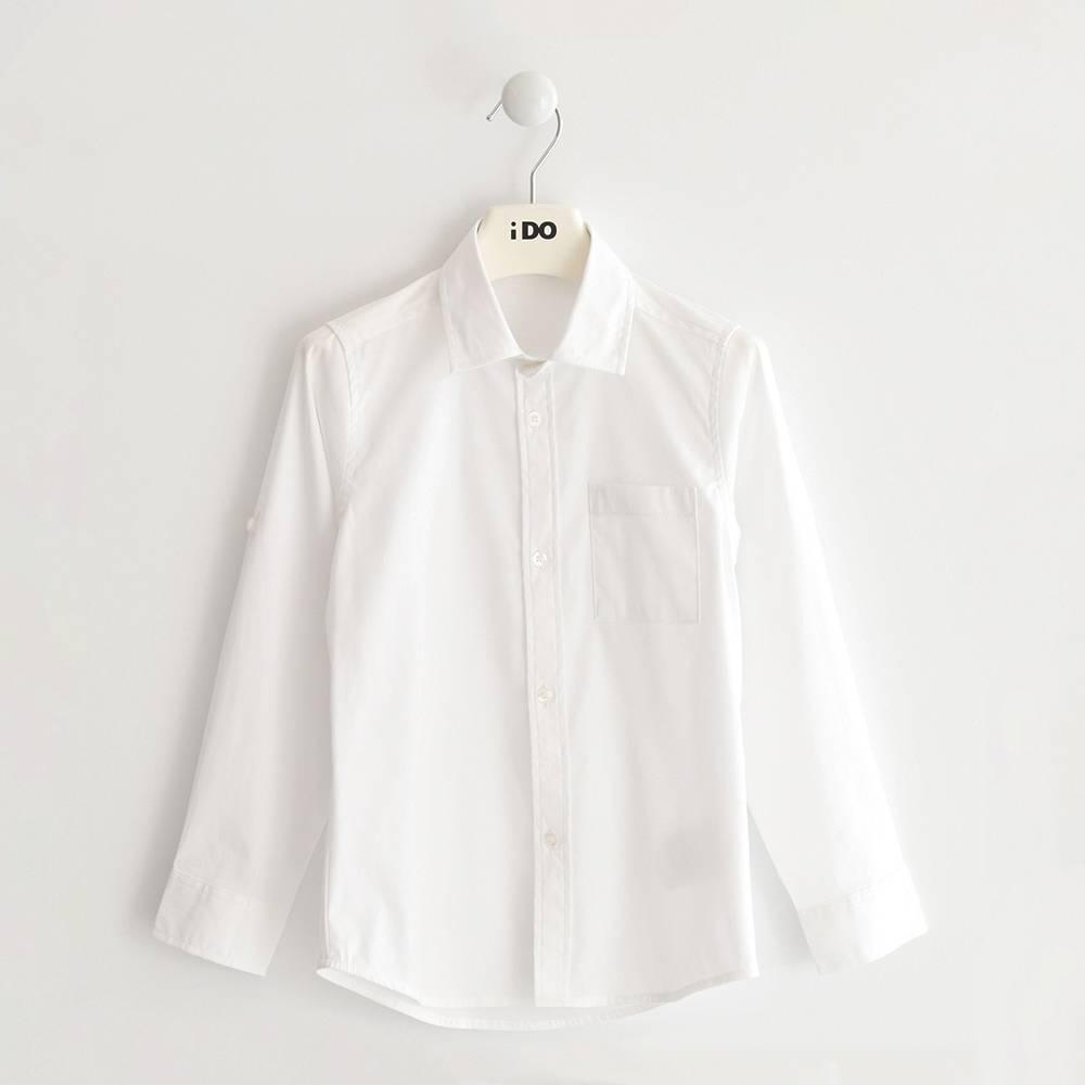 Рубашка для мальчика iDO хлопок подростка 4.J384.00/0113