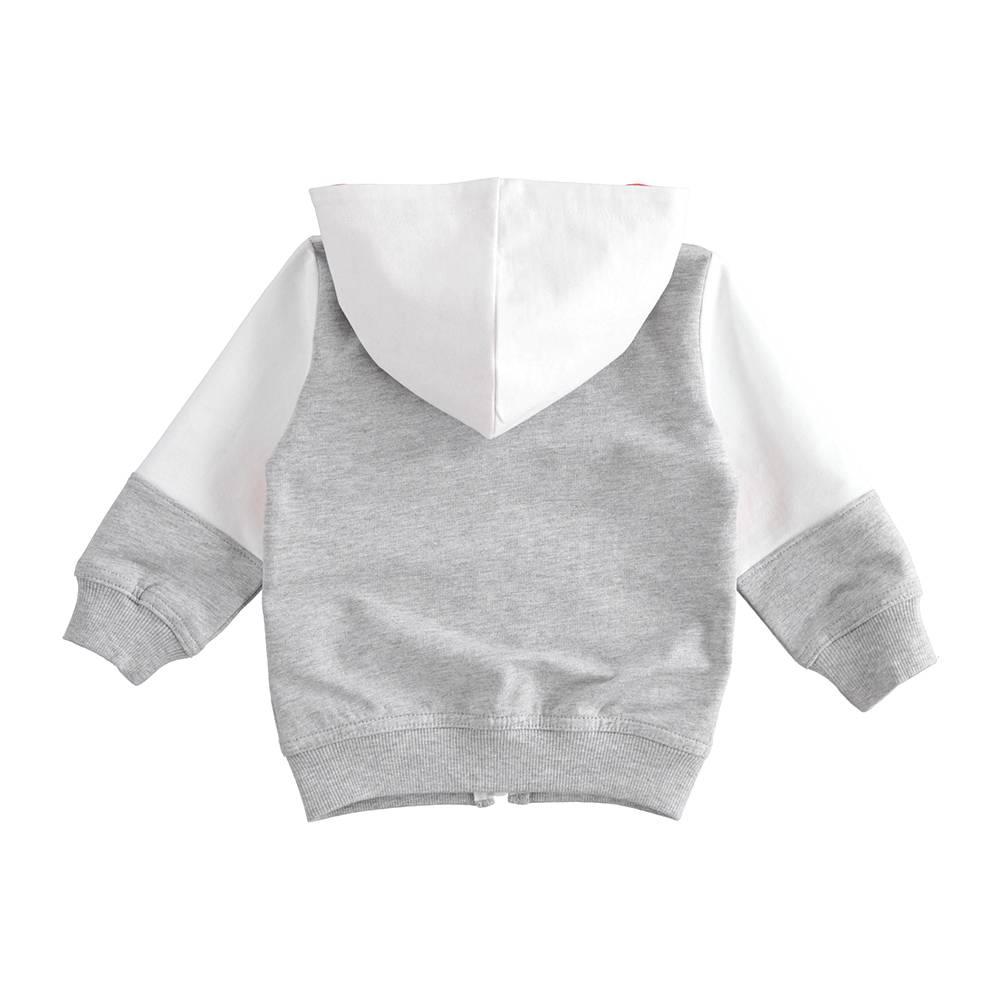 Толстовка для мальчика iDO трикотаж капюшон карман 4.J220.00/8025