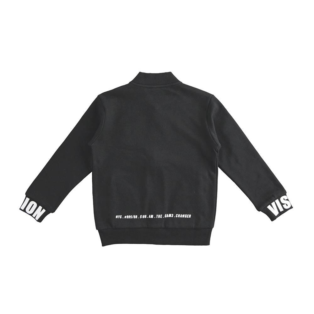 Куртка бомбер для мальчика iDO демисезонная 4.J405.00/0658