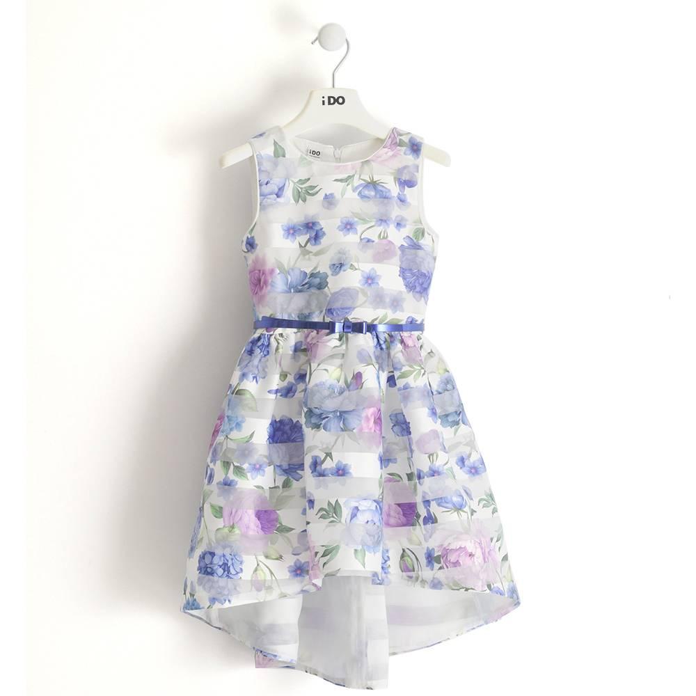 Платье для девочки iDO нарядное цветочный мотив 4.J545.00/6ML2