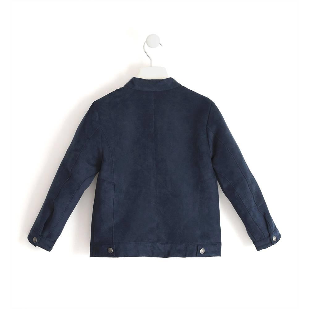 Куртка бомбер для мальчика iDO замшевая демисезонная 4.J466.00/3885