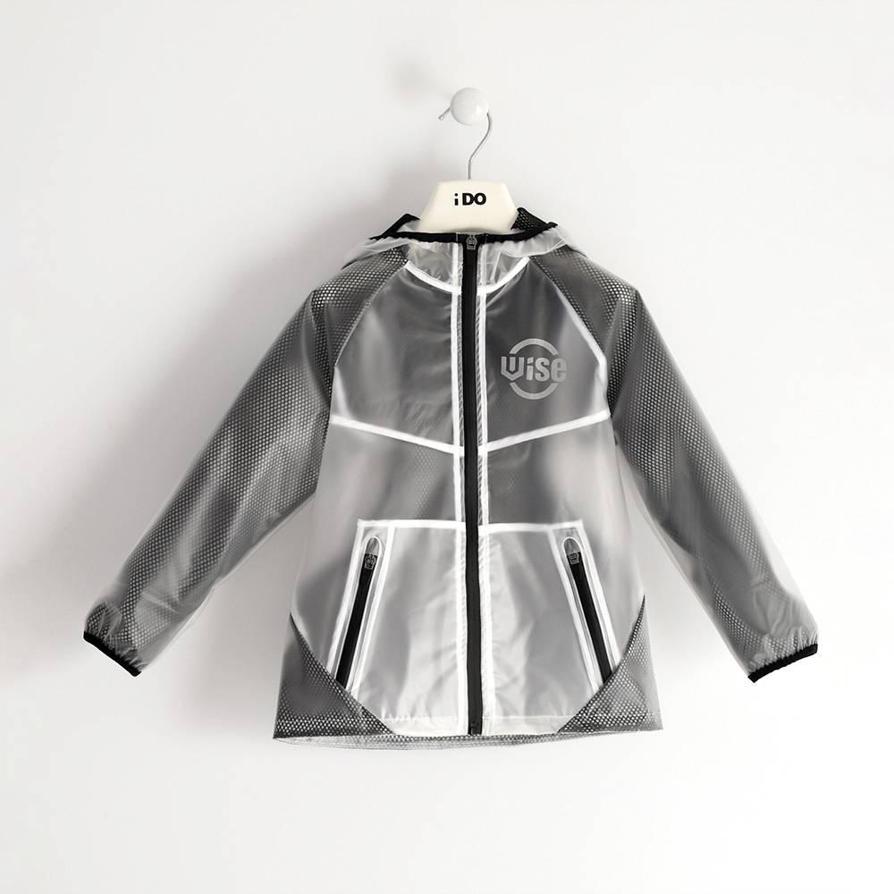 Куртка для мальчика iDO демисезонная непромокаемая с капюшоном 4.J468.00/5900