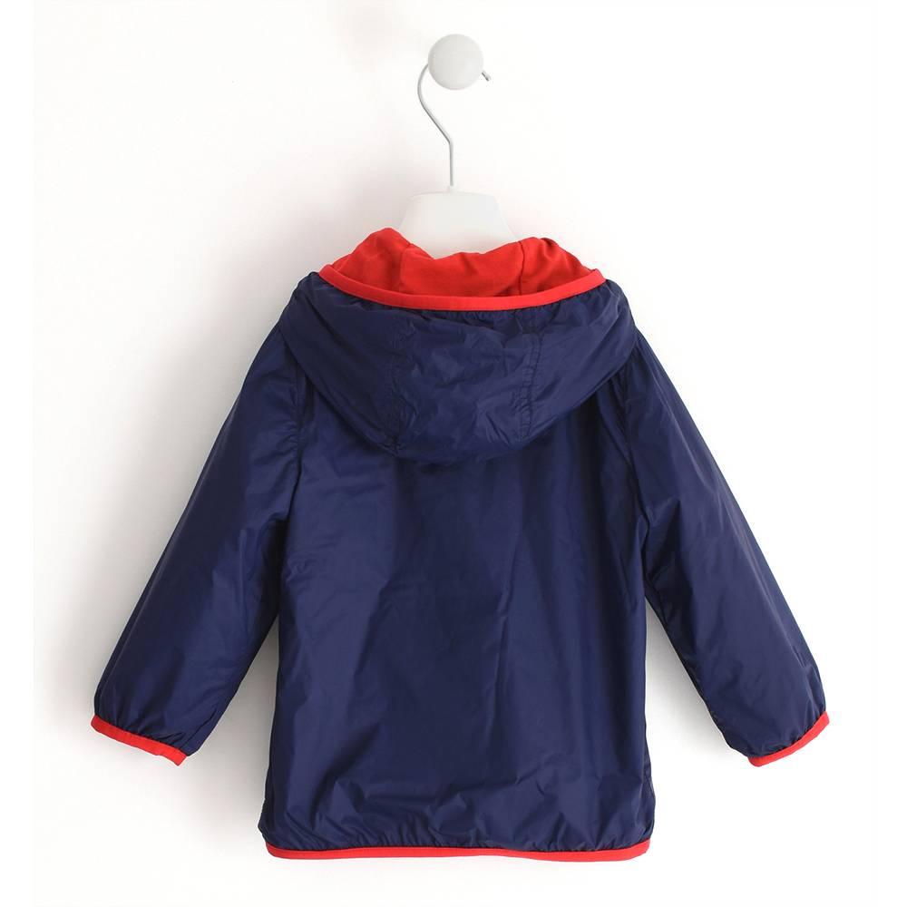 Куртка для мальчика iDO демисезонная ветровка с капюшоном 4.J045.003854