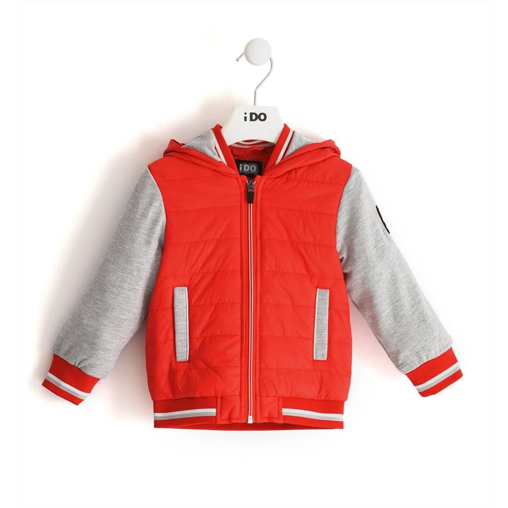 Куртка для мальчика iDO демисезонная ветровка с капюшоном 4.J260.00/2235