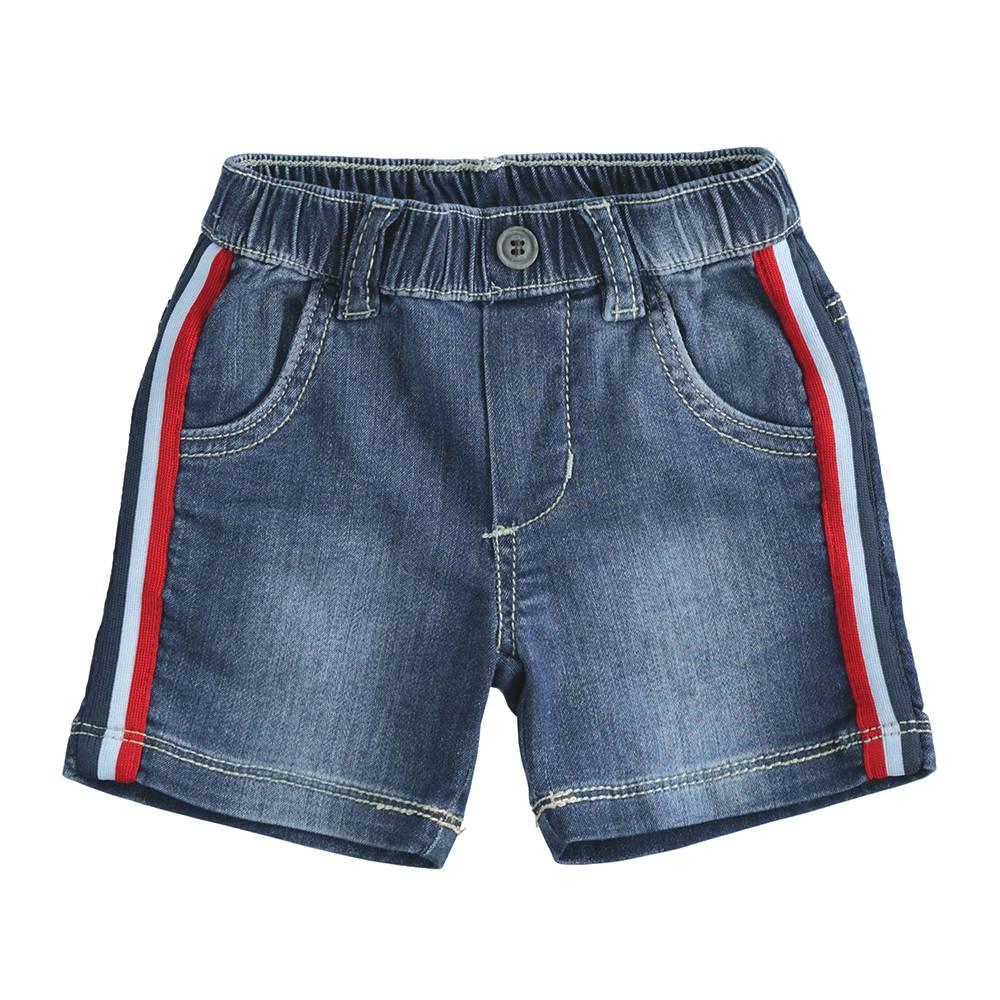 Шорты для мальчика iDO хлопок джинсовый 4.J610.00/7450