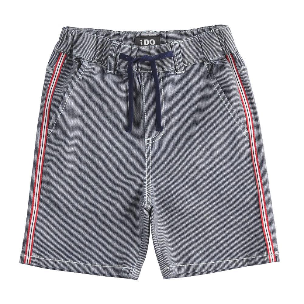 Шорты для мальчика iDO подростка джинсовые 4.J831.00/7450
