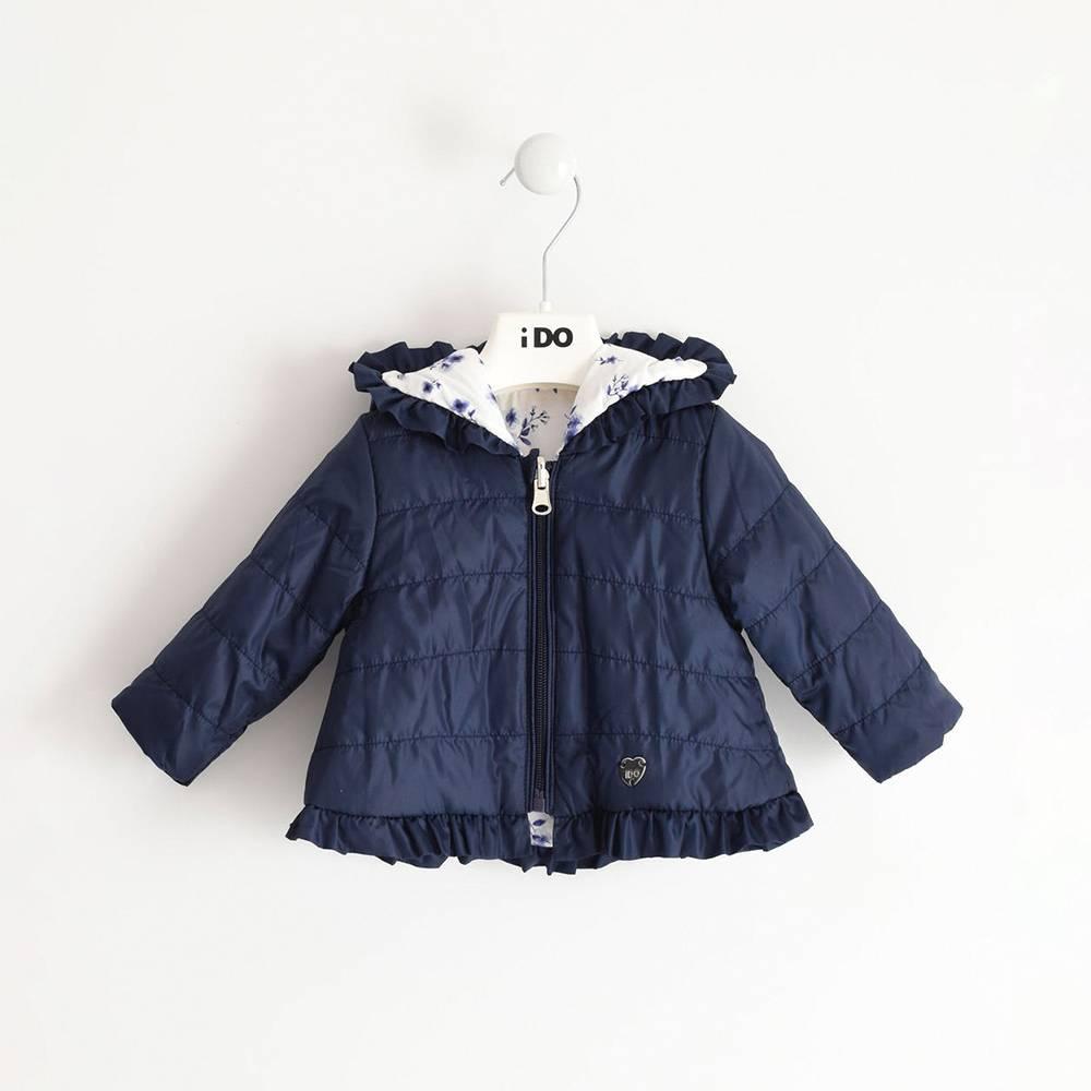 Куртка детская iDO демисезонная двухсторонняя с капюшоном 4.J169.00/8004
