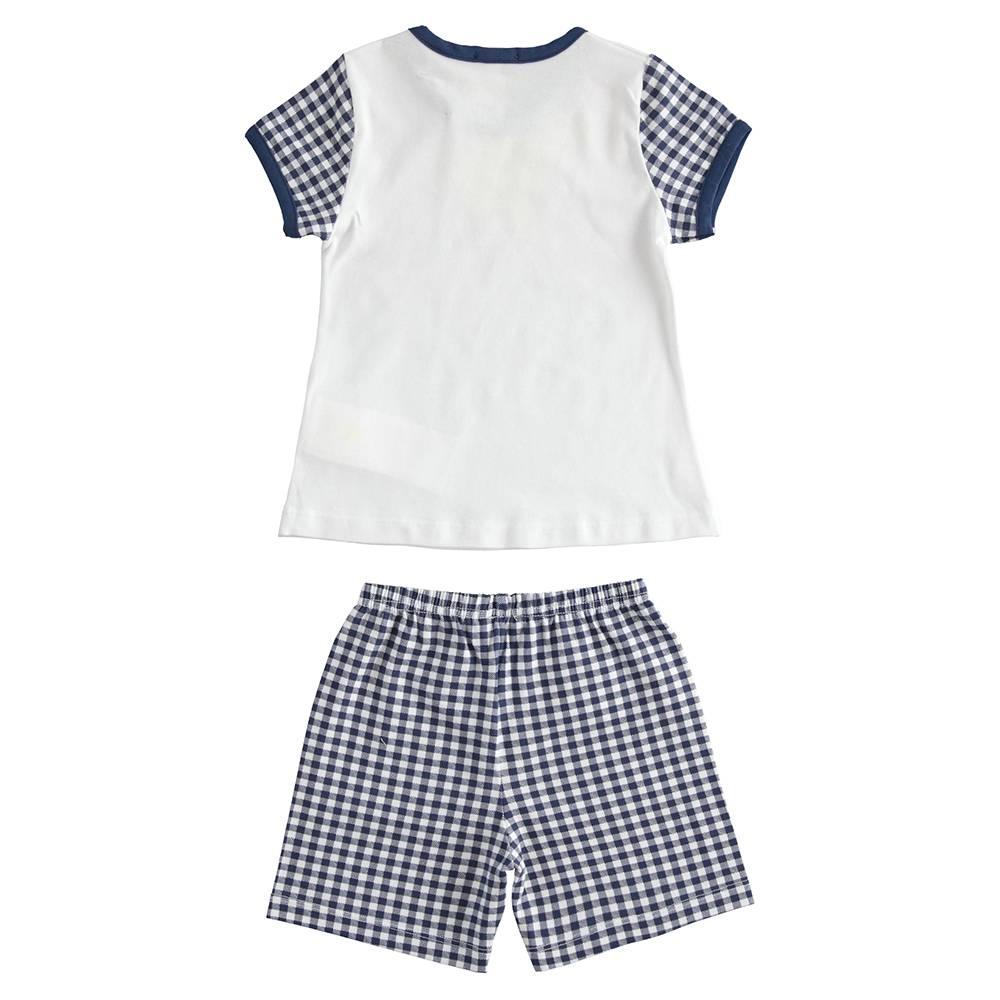 Пижама детская iDO летняя трикотаж хлопок принт 4.J173.00/5070