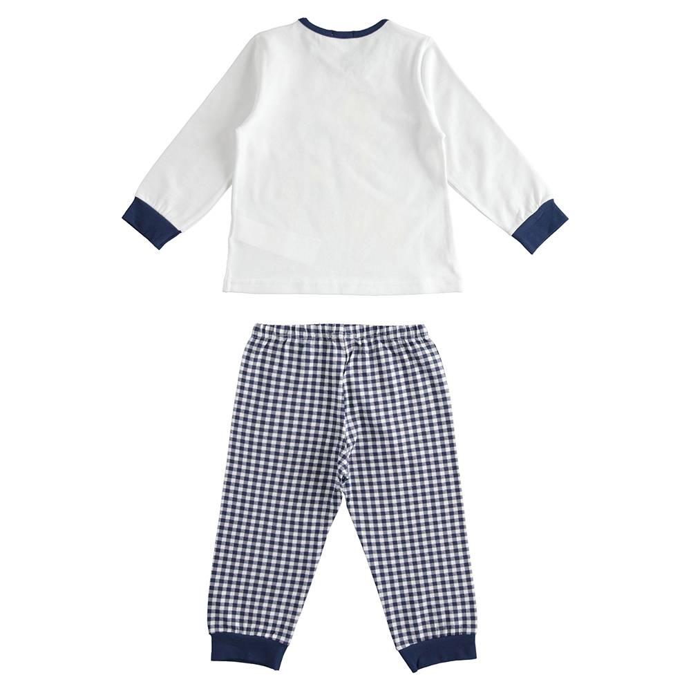 Пижама детская iDO демисезонная трикотаж хлопок принт 4.J175.00/5070