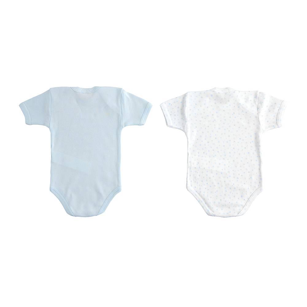 Боди комплект для мальчика iDO летний короткий рукав хлопок трикотаж 4.J226.00