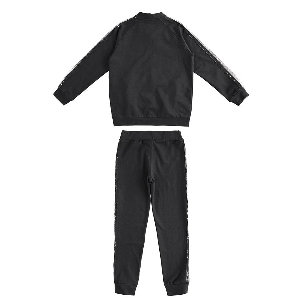 Комплект для девочки iDO спортивный толстовка штаны 4.J573.00/0658