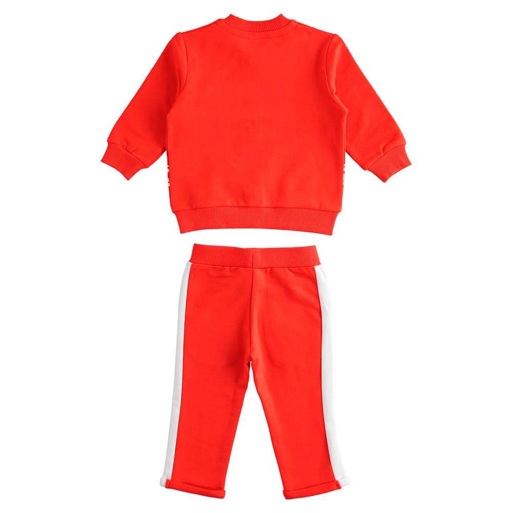 Комплект для девочки iDO толстовка штаны трикотаж 4.J275.00