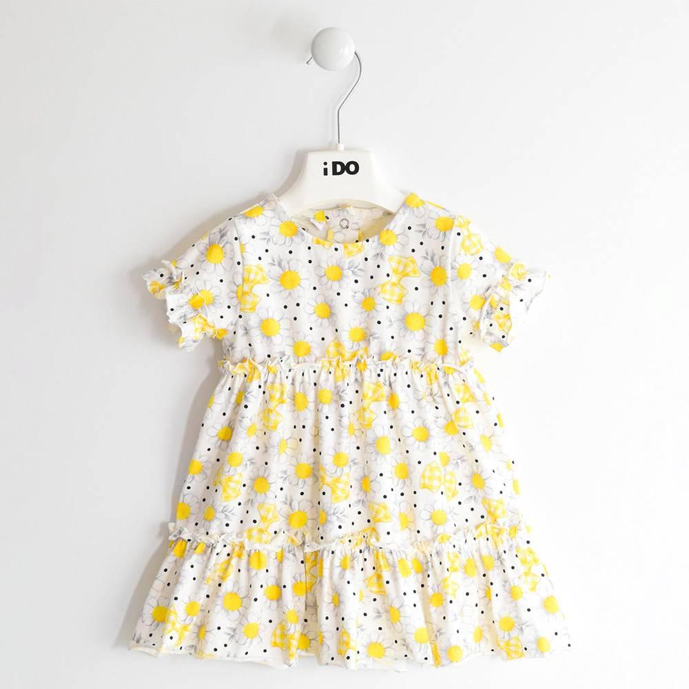 Платье для девочки iDO летнее трикотажное 4.J642.00/6MR9