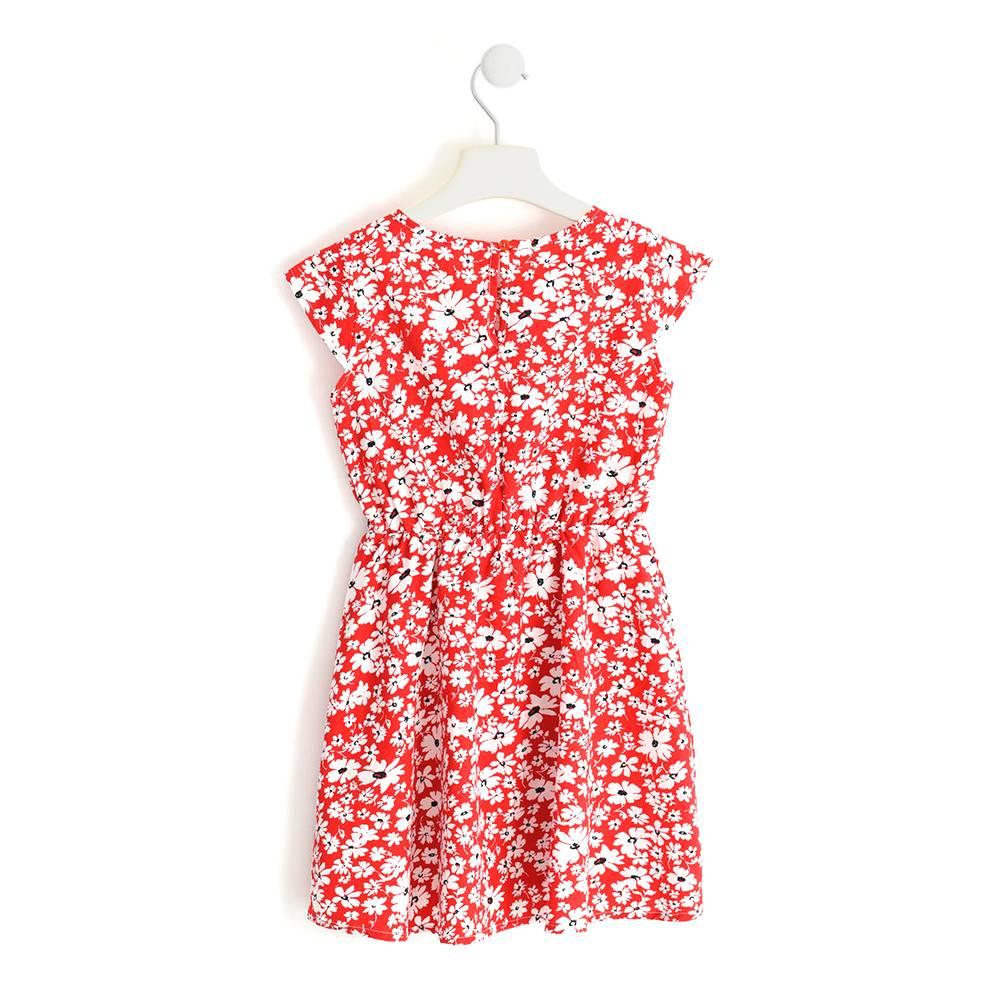 Платье для девочки iDO хлопок поплин 4.J850.00/8029