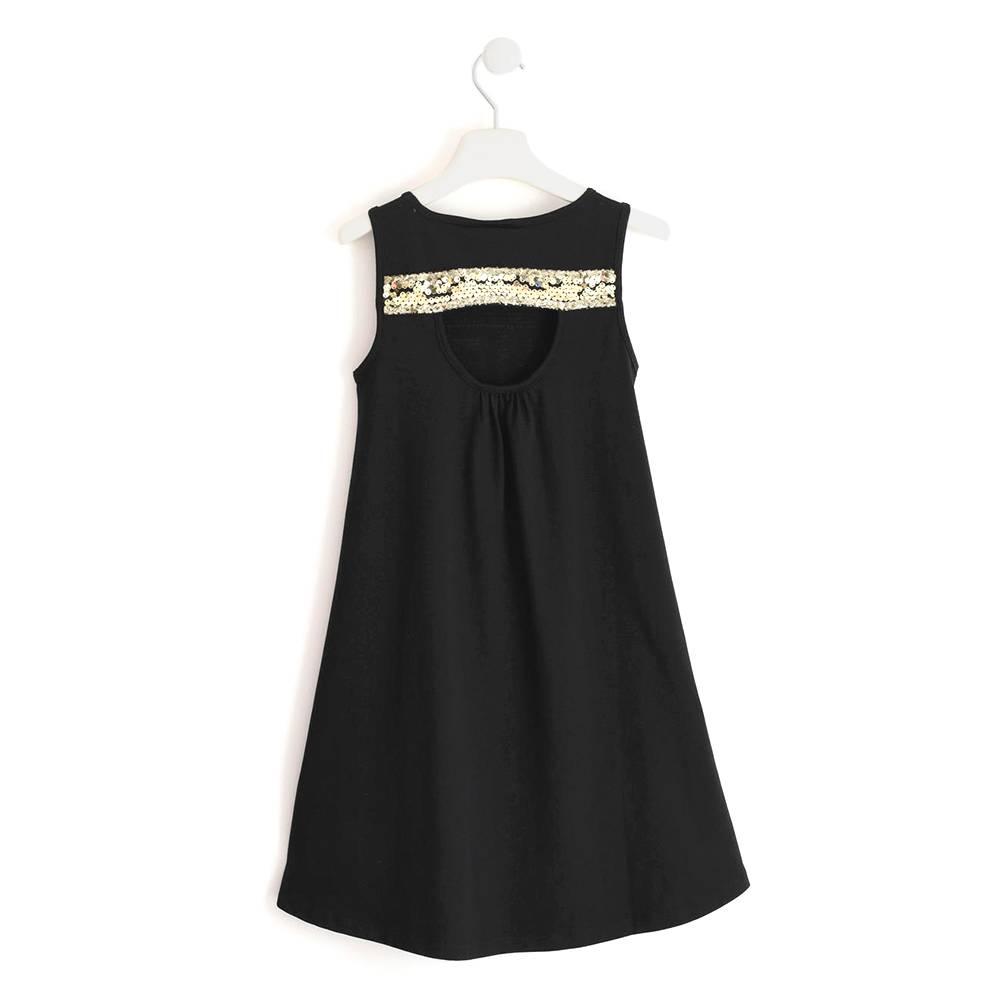 Платье для девочки iDO хлопок трикотаж принт 4.J851.00/0658