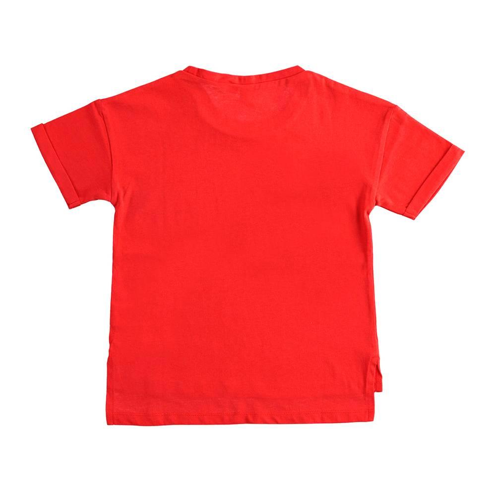 Футболка для девочки iDO без рукава хлопок 4.J855.00/2256