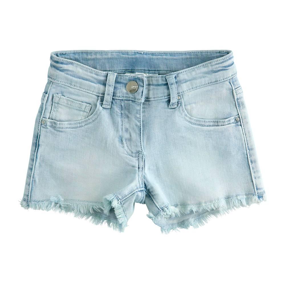 Шорты для девочки iDO летние тонкие джинсовые 4.J877.00/7310