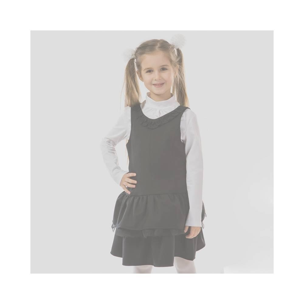 Сарафан для девочки Kids Couture школьный черный 7171590209