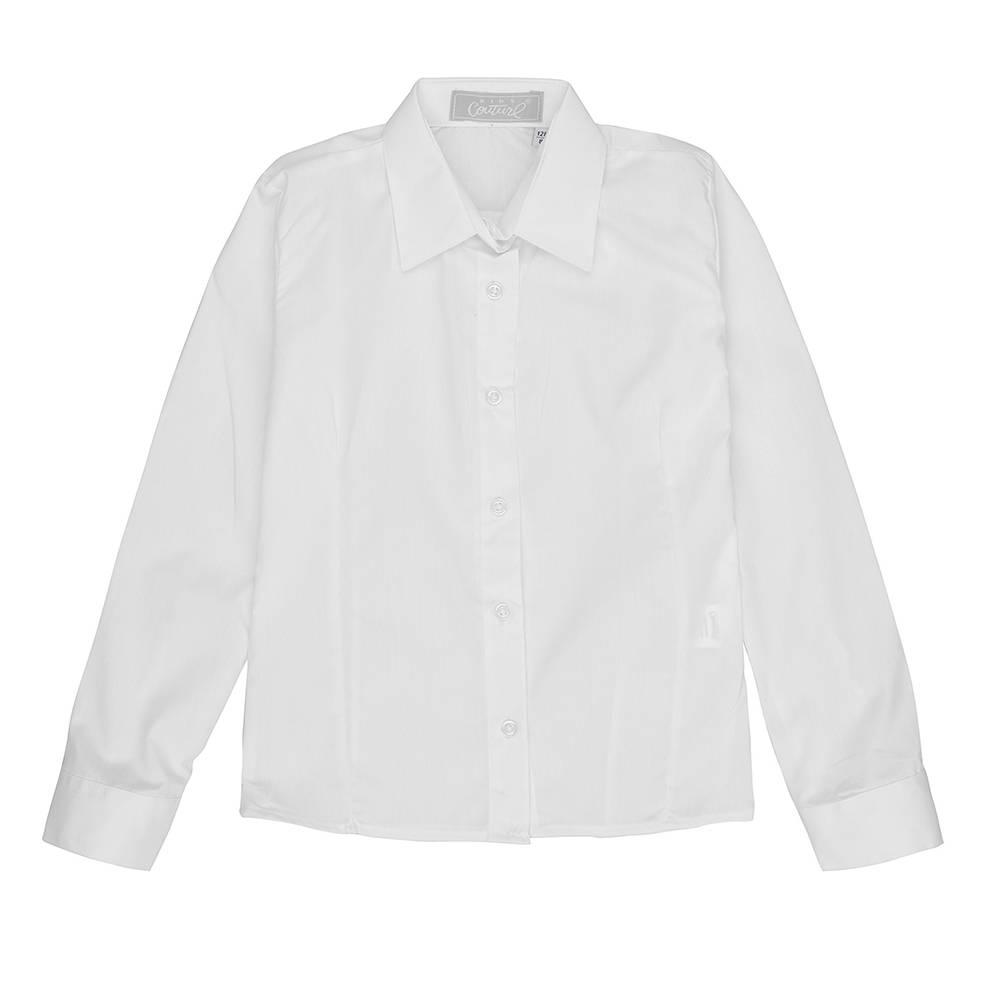 Рубашка для девочки Kids Couture школьная белый 31040175