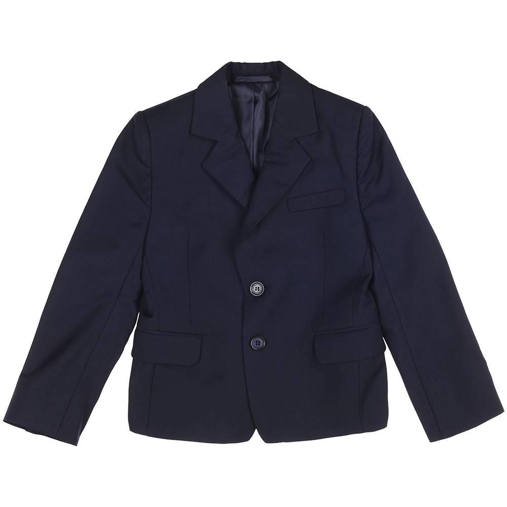 Пиджак для мальчика Kids Couture школьный синий 717116004
