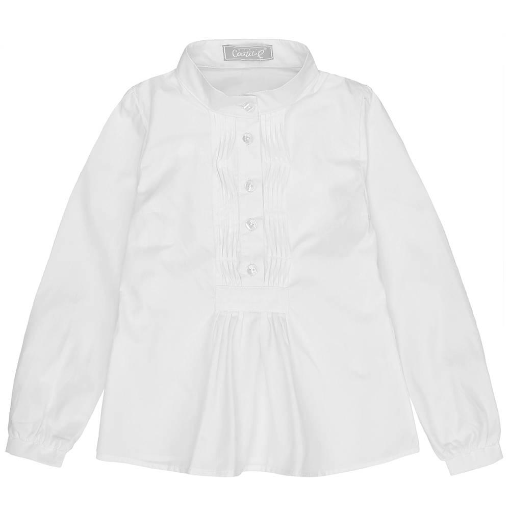 Рубашка для девочки Kids Couture школьная белый 71713101101